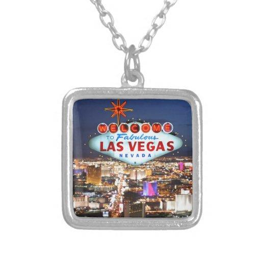 Regalos de Las Vegas Colgante Cuadrado