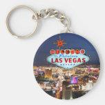 Regalos de Las Vegas Llavero Redondo Tipo Pin