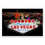 Regalos de Las Vegas Tarjeta