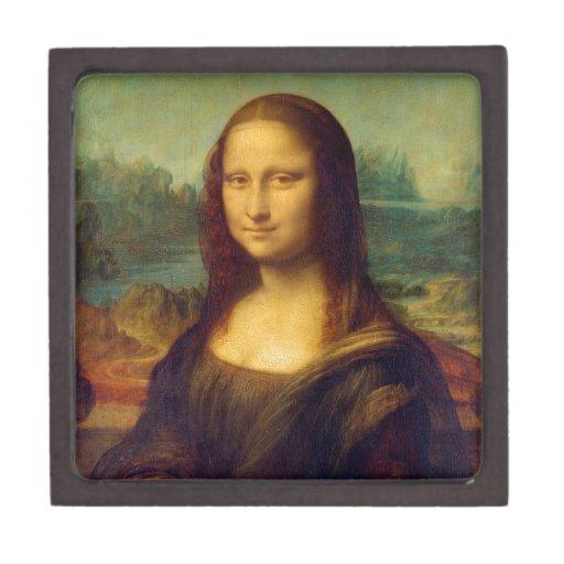 Regalos de Leonardo da Vinci Mona Lisa Cajas De Regalo De Calidad