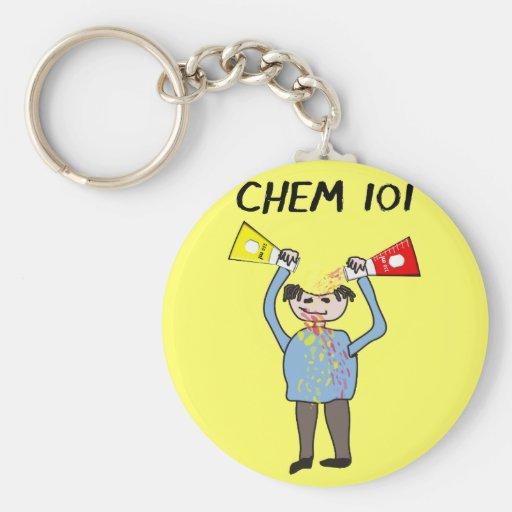 Regalos de los amantes de la química llaveros
