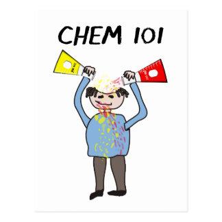 Regalos de los amantes de la química postales