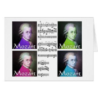 Regalos de los amantes de Mozart Tarjeta De Felicitación