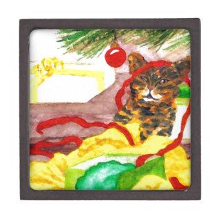 Regalos de los amantes del gato del gatito del ayu cajas de regalo de calidad