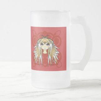 Regalos de los chicas del animado taza de café