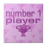 Regalos de los deportes para los chicas: Jugador d Azulejos Ceramicos