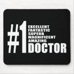 Regalos de los doctores cumpleaños: Doctor del núm Tapete De Ratones