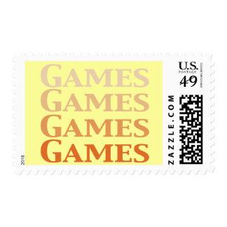 Regalos de los juegos de los juegos de los juegos sellos