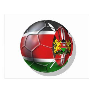 Regalos de los jugadores de fútbol del balón de fú postales