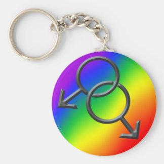 Regalos de los llaveros del amor del arco iris del