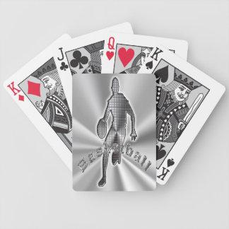 Regalos de los naipes del baloncesto para la fan d cartas de juego