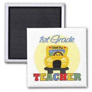 Regalos de los profesores imán cuadrado