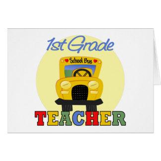 Regalos de los profesores tarjeta de felicitación