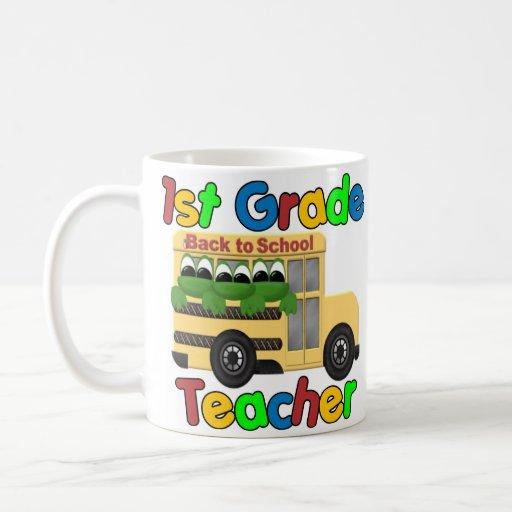 Regalos de los profesores taza básica blanca