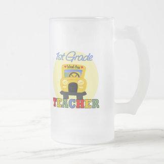 Regalos de los profesores taza de cristal