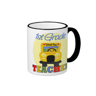 Regalos de los profesores taza de dos colores