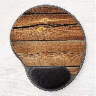 Regalos de madera del país del tablero de los alfombrilla de raton con gel