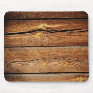 Regalos de madera rústicos del país del diseño de  alfombrilla de ratones