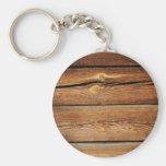 Regalos de madera rústicos del país del diseño de  llavero