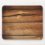 Regalos de madera rústicos del país del diseño de  tapete de ratones