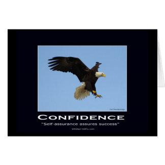 Regalos de motivación calvos de Eagle Tarjeta De Felicitación