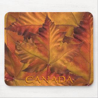 Regalos de Mousepad de la hoja de arce de Canadá M Tapetes De Ratones