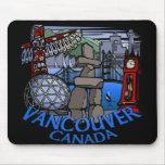 Regalos de Mousepad Vancouver del recuerdo de Vanc Alfombrilla De Ratón