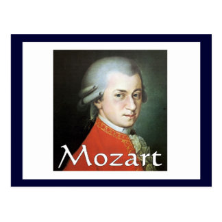 Regalos de Mozart para los amantes de la música Postal