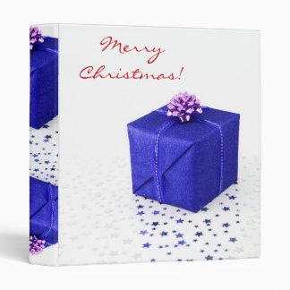 "Regalos de Navidad azules en II inglés Carpeta 1"""