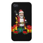 Regalos de Navidad iPhone 4 Carcasa