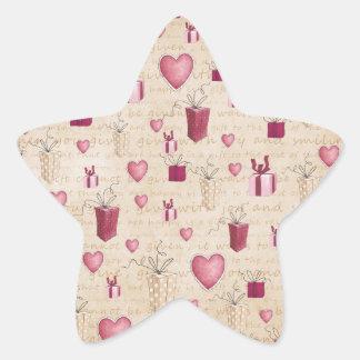 Regalos de Navidad Pegatinas Forma De Estrella Personalizadas