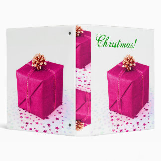 "Regalos de Navidad V rosado Carpeta 1"""