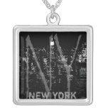 Regalos de New York City del collar del recuerdo d