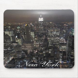 Regalos de New York City del paisaje urbano de Nue Alfombrilla De Raton