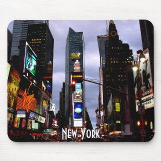 Regalos de New York City del paisaje urbano de Nue Alfombrillas De Ratones