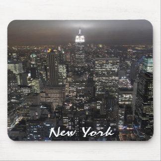 Regalos de New York City del paisaje urbano de Nue Alfombrilla De Ratones