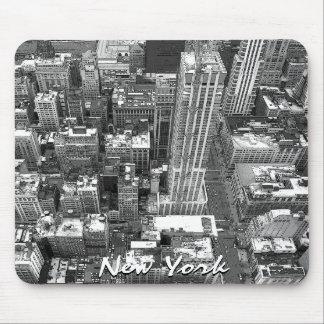 Regalos de New York City del paisaje urbano de Nue Alfombrillas De Raton