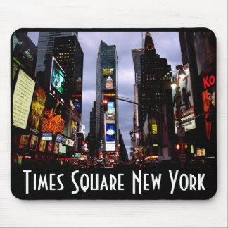 Regalos de New York City del Times Square de Nueva Alfombrillas De Ratones