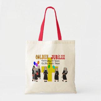 Regalos de oro del jubileo de las monjas bolsa