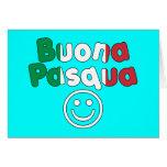 Regalos de Pascua para los altavoces italianos: Bu Tarjetas