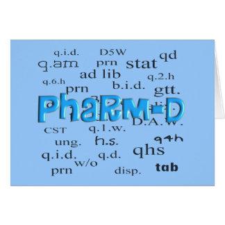 Regalos de Pharm-D del estudiante de la farmacia Felicitaciones