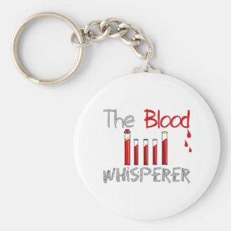"""Regalos de Phlebotomist """"el Whisperer de la sangre Llavero Redondo Tipo Pin"""
