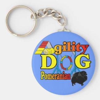 Regalos de Pomeranian_Agility Llaveros Personalizados