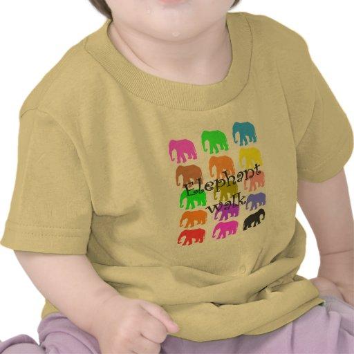 Regalos de PopArt del elefante Camisetas