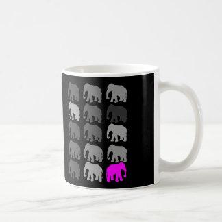 Regalos de PopArt del elefante Tazas
