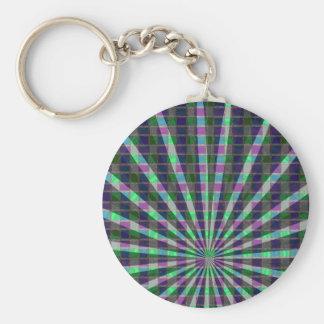 Regalos de ReflectionsTemplate DIY de la luz de la Llavero Redondo Tipo Pin