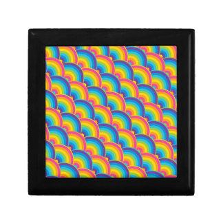 Regalos de repetición coloridos del modelo del arc cajas de joyas