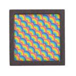 Regalos de repetición coloridos del modelo del arc caja de recuerdo de calidad
