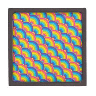 Regalos de repetición coloridos del modelo del arc cajas de joyas de calidad