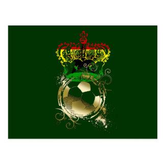 Regalos de reyes Ashanti del fútbol de Ghana Postales